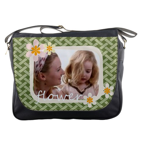 Flower By Joely   Messenger Bag   Al1zr2lgdvd8   Www Artscow Com Front