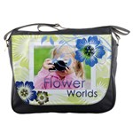 flower - Messenger Bag