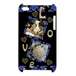 Love Apple iPod Touch 4G Hardshell Case