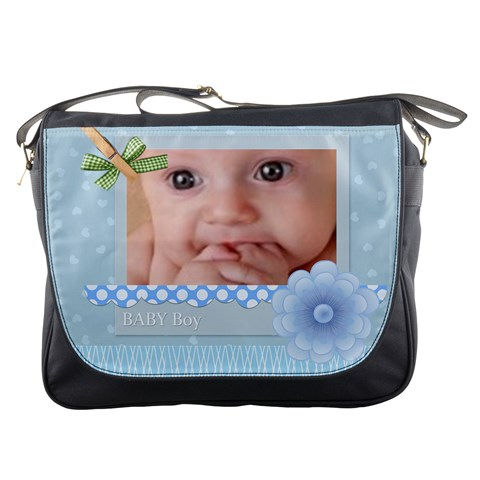 Baby Boy By Joely   Messenger Bag   F7cpgui8bbfd   Www Artscow Com Front