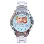 baby boy - Stainless Steel Analogue Men's Watch