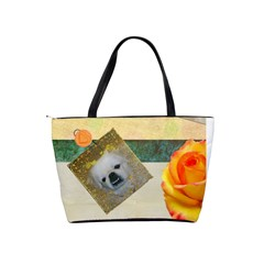 Rose Handbag By Kim Blair   Classic Shoulder Handbag   Qrhhik7st0ge   Www Artscow Com Back