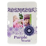purple world - Samsung Galaxy Tab 8.9  P7300 Hardshell Case