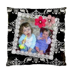 French Quarter   Cushion Case (two Sides)  By Picklestar Scraps   Standard Cushion Case (two Sides)   D2bmvs6u8ppn   Www Artscow Com Front