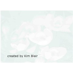 Breast Cancer Ribbon Card By Kim Blair   Ribbon 3d Greeting Card (7x5)   U5d10qwyp6tr   Www Artscow Com Back