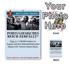 Twilight Struggle German Part 1 By Martin Hoefer   Multi Purpose Cards (rectangle)   Zqz80vkjgnsm   Www Artscow Com Front 52