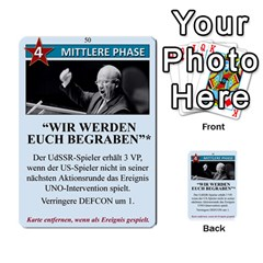 Twilight Struggle German Part 1 By Martin Hoefer   Multi Purpose Cards (rectangle)   Zqz80vkjgnsm   Www Artscow Com Front 50