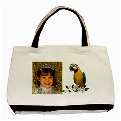 Macaw Classsic Tote Bag ( 2 Sides) By Kim Blair   Basic Tote Bag (two Sides)   A7soov1wioer   Www Artscow Com Back