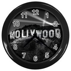 hollywood-clock Wall Clock (Black) by lisaA