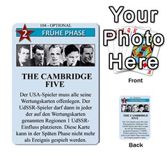 Twilight Struggle German Part 2 By Martin Hoefer   Multi Purpose Cards (rectangle)   86z7az3u0l0i   Www Artscow Com Front 50