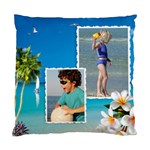 Beach House Cushion - Cushion Case (One Side)