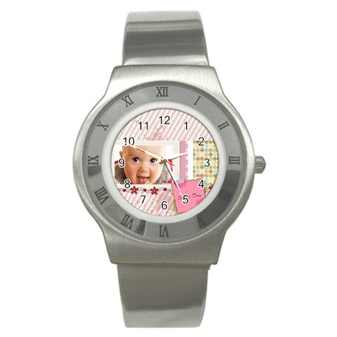 Sweet By Joely   Stainless Steel Watch   Rrqcaxe1xyjd   Www Artscow Com Front