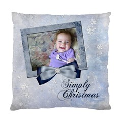 Simply Christmas Vol 2   Cushion (two Sides)  By Picklestar Scraps   Standard Cushion Case (two Sides)   1z4ffyr4clo2   Www Artscow Com Front
