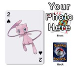 Pokemon - Playing Cards 54 Designs