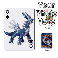Queen Pokemon By Cheesedork   Playing Cards 54 Designs   Rqeon3f3tcgo   Www Artscow Com Front - SpadeQ