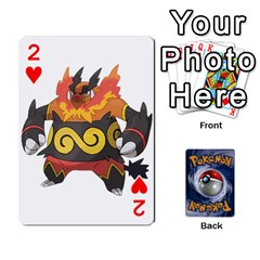 Pokemon By Cheesedork   Playing Cards 54 Designs   Rqeon3f3tcgo   Www Artscow Com Front - Heart2