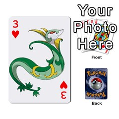 Pokemon By Cheesedork   Playing Cards 54 Designs   Rqeon3f3tcgo   Www Artscow Com Front - Heart3
