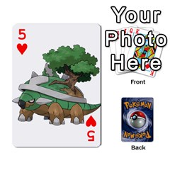 Pokemon By Cheesedork   Playing Cards 54 Designs   Rqeon3f3tcgo   Www Artscow Com Front - Heart5