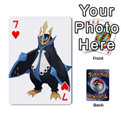 Pokemon By Cheesedork   Playing Cards 54 Designs   Rqeon3f3tcgo   Www Artscow Com Front - Heart7