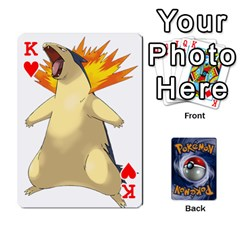 King Pokemon By Cheesedork   Playing Cards 54 Designs   Rqeon3f3tcgo   Www Artscow Com Front - HeartK
