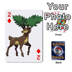 Pokemon By Cheesedork   Playing Cards 54 Designs   Rqeon3f3tcgo   Www Artscow Com Front - Diamond2