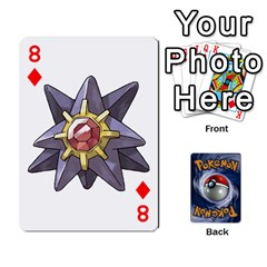 Pokemon By Cheesedork   Playing Cards 54 Designs   Rqeon3f3tcgo   Www Artscow Com Front - Diamond8