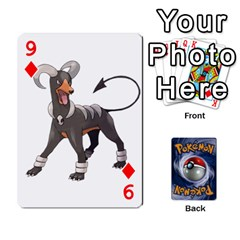 Pokemon By Cheesedork   Playing Cards 54 Designs   Rqeon3f3tcgo   Www Artscow Com Front - Diamond9