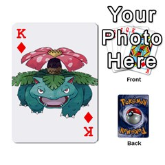 King Pokemon By Cheesedork   Playing Cards 54 Designs   Rqeon3f3tcgo   Www Artscow Com Front - DiamondK