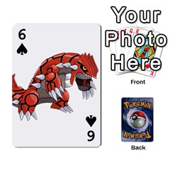 Pokemon By Cheesedork   Playing Cards 54 Designs   Rqeon3f3tcgo   Www Artscow Com Front - Spade6