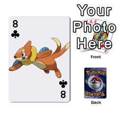 Pokemon By Cheesedork   Playing Cards 54 Designs   Rqeon3f3tcgo   Www Artscow Com Front - Club8