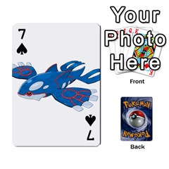Pokemon By Cheesedork   Playing Cards 54 Designs   Rqeon3f3tcgo   Www Artscow Com Front - Spade7