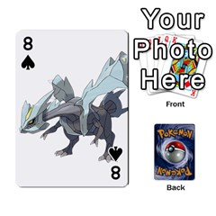 Pokemon By Cheesedork   Playing Cards 54 Designs   Rqeon3f3tcgo   Www Artscow Com Front - Spade8