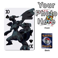 Pokemon By Cheesedork   Playing Cards 54 Designs   Rqeon3f3tcgo   Www Artscow Com Front - Spade10