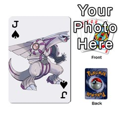 Jack Pokemon By Cheesedork   Playing Cards 54 Designs   Rqeon3f3tcgo   Www Artscow Com Front - SpadeJ