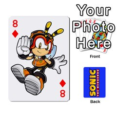 Sonic By Cheesedork   Playing Cards 54 Designs   3d234280gtve   Www Artscow Com Front - Diamond8