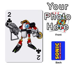 Sonic By Cheesedork   Playing Cards 54 Designs   3d234280gtve   Www Artscow Com Front - Club2