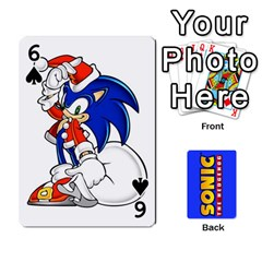Sonic By Cheesedork   Playing Cards 54 Designs   3d234280gtve   Www Artscow Com Front - Spade6