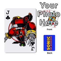 Jack Sonic By Cheesedork   Playing Cards 54 Designs   3d234280gtve   Www Artscow Com Front - ClubJ