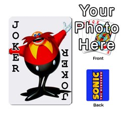 Sonic By Cheesedork   Playing Cards 54 Designs   3d234280gtve   Www Artscow Com Front - Joker1