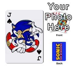 Jack Sonic By Cheesedork   Playing Cards 54 Designs   3d234280gtve   Www Artscow Com Front - SpadeJ
