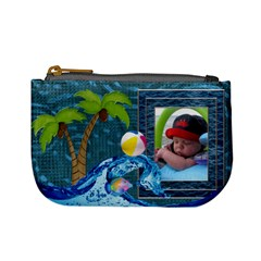 Tropical Mini Coin Purse By Lil    Mini Coin Purse   M0i4csgpqize   Www Artscow Com Front