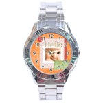 hello - Stainless Steel Analogue Men's Watch