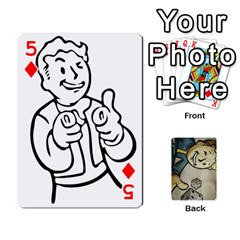 Falloutdeck By Brianna   Playing Cards 54 Designs   8ez5c41iwcr1   Www Artscow Com Front - Diamond5