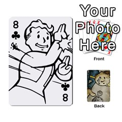Falloutdeck By Brianna   Playing Cards 54 Designs   8ez5c41iwcr1   Www Artscow Com Front - Club8