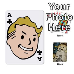 Ace Falloutdeck By Brianna   Playing Cards 54 Designs   8ez5c41iwcr1   Www Artscow Com Front - ClubA