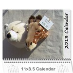 2013 sam fisher 18 month calendar - Wall Calendar 11  x 8.5  (18 Months)
