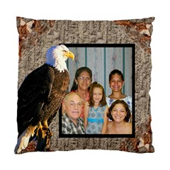 Eagle Two Sides Pillow Case By Kim Blair   Standard Cushion Case (two Sides)   Sc10x8tgg8y9   Www Artscow Com Front
