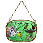 Green Bird Chain Purse - Chain Purse (Two Sides)