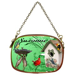 Green Bird Chain Purse By Kim Blair   Chain Purse (two Sides)   18iqqagoltxc   Www Artscow Com Back
