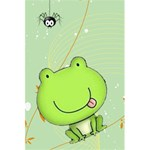 Cute Frog Notebook - 5.5  x 8.5  Notebook